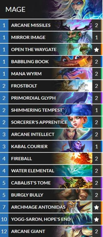 casino mage deck list
